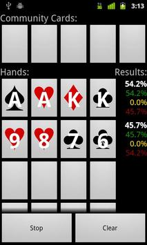 Poker Odds apk screenshot
