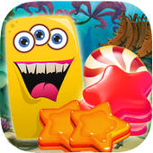 pudding monster star icon