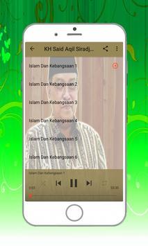 Kumpulan Ceramah KH Said Aqil Siradj M.A apk screenshot