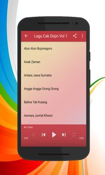 Lagu Cak Diqin Full Mp3 screenshot 2