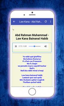 Sholawat Law Kana Bainanal Habib Offline screenshot 2