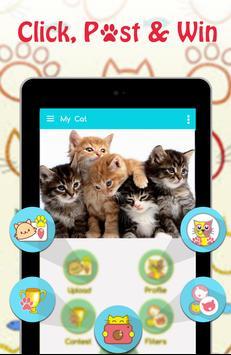 Cute Cat Pictures Contest & Photo editor screenshot 4