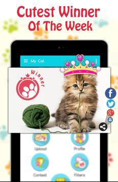 Cute Cat Pictures Contest & Photo editor screenshot 11