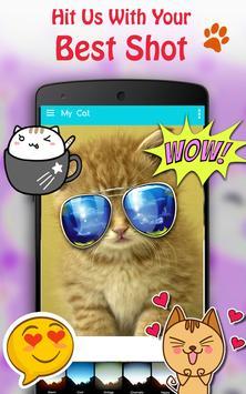 Cute Cat Pictures Contest & Photo editor screenshot 3