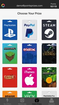 PointsPrizes - Free Gift Cards الملصق