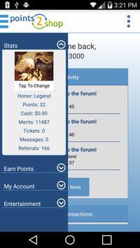 Points2Shop apk screenshot