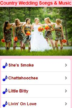 Country Wedding Songs & Music screenshot 2