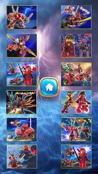 Ninja Kaii  Jigsaw game. poster
