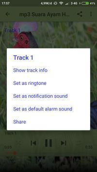 mp3 Suara Ayam Hutan screenshot 5