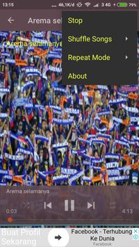 Lagu Arema Juara screenshot 4