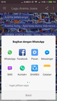 Lagu Arema Juara screenshot 3
