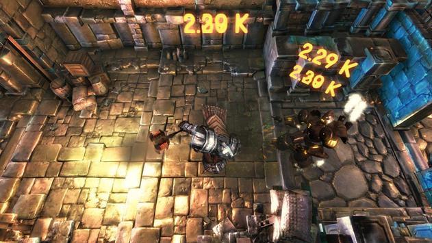 Forged Stone of dwarf mine apk screenshot