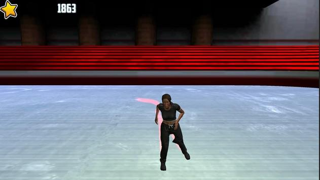 Ice figure Skating on the rink apk screenshot