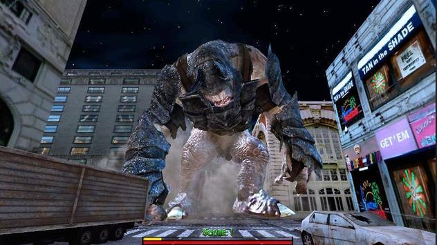 Monster Titan in new York poster
