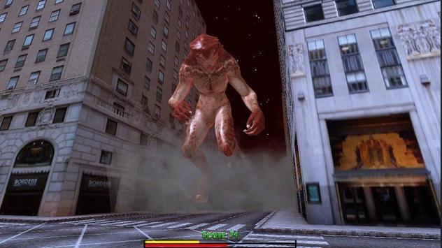 Monster Titan in new York apk screenshot