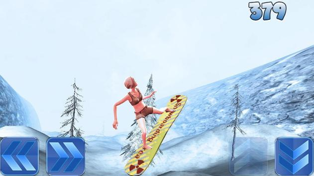 SnowBoard Stunt Pipe apk screenshot