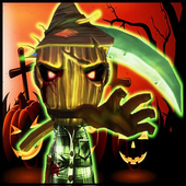 Scary Lady Halloween 2015 icon