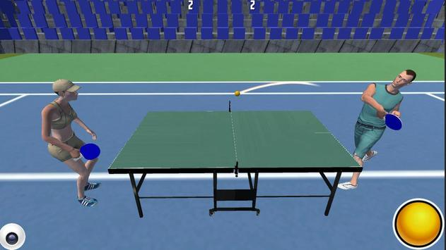 Ping Pong Table Tennis Pro poster