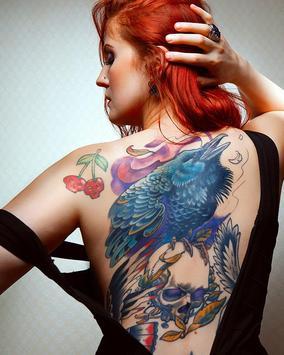 Tattoo selfie keep it real poster