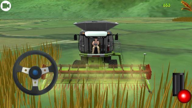 Tractor Sunshine Land Field apk screenshot