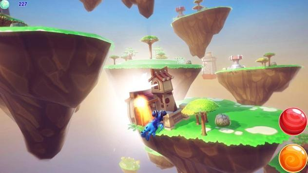 Dragon Cloud Island Village poster
