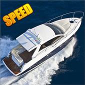 Boat yacht marina sea icon
