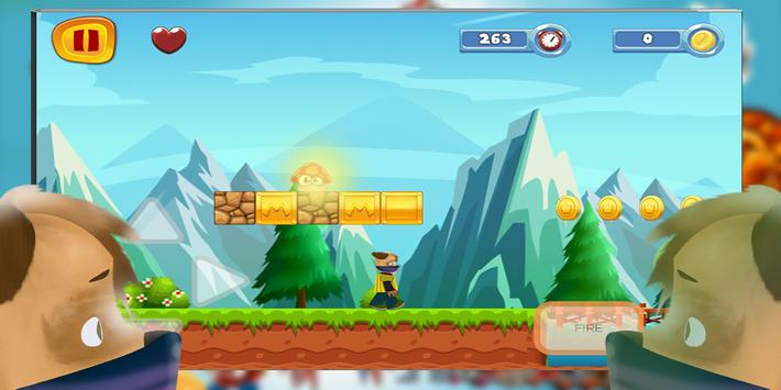 super pooches - ninja adventure apk screenshot