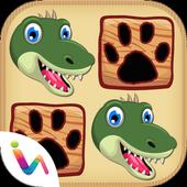 Dinosaurs Match Pairs - Dinosaur Games Free icon