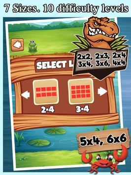 Dinosaurs Match Pairs - Dinosaur Games Free apk screenshot