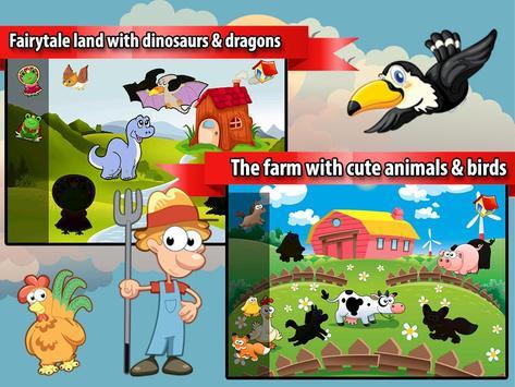 Peg Puzzles for Kids & Toddler screenshot 1