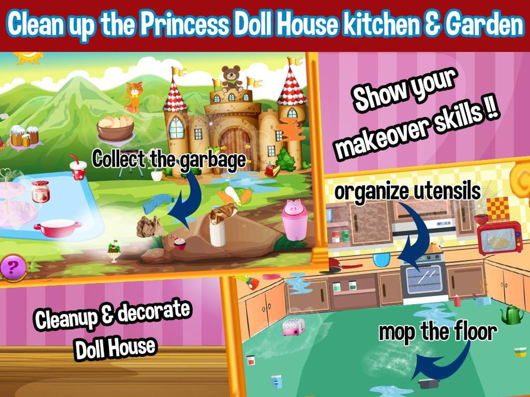 Princess Doll House Cleaning Decoration Games Apk Baixar Gr Tis Casual Jogo Para Android