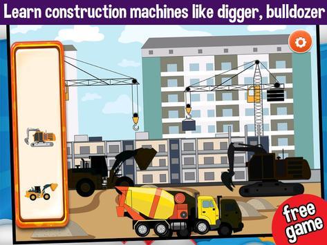 Vehicles Peg Puzzles for Kids screenshot 2