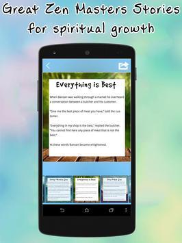 101 Zen Stories-Wisdom Stories screenshot 5