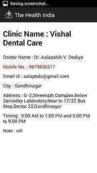 The Health India apk screenshot