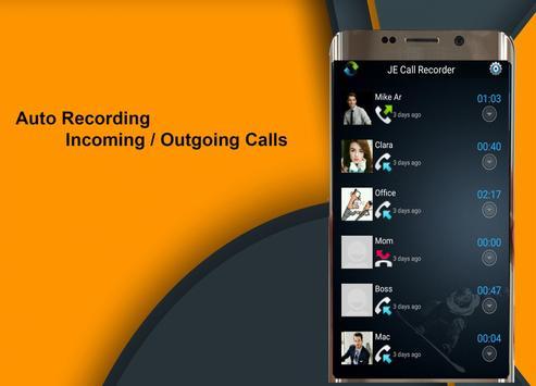 Call Recorder JE screenshot 1