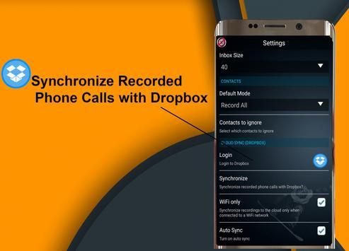 Call Recorder JE screenshot 3