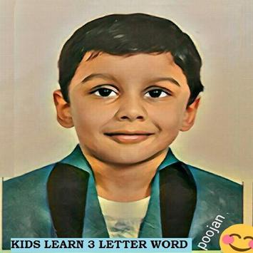 KIDS READ 3 LETTERS LKG-UKG poster