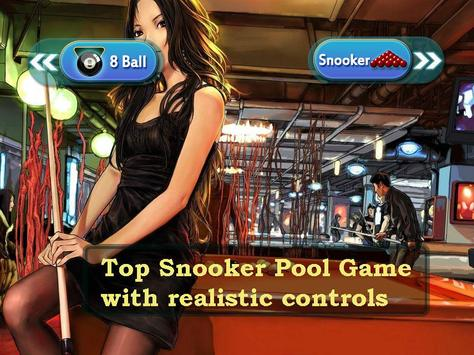 Snooker Pool 8 Ball 2018 apk screenshot