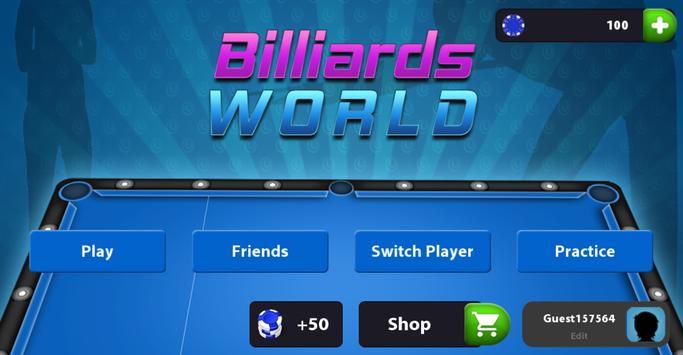 Billiard World poster