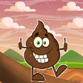 poop run adventure icon