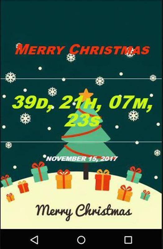 christmas countdown 2017 poster
