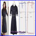 woman's dress pattern
