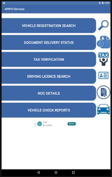 AP RTA Transport Dept Info screenshot 2