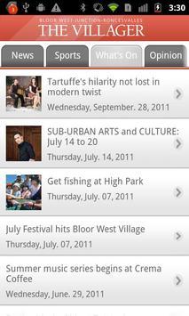Bloor-West Villager apk screenshot