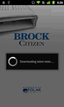 Brock Citizen poster