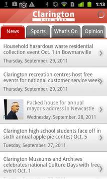Clarington this Week apk screenshot