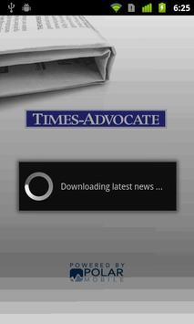 Exeter Times Advocate poster