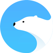 Polar Browser -Download Faster icon