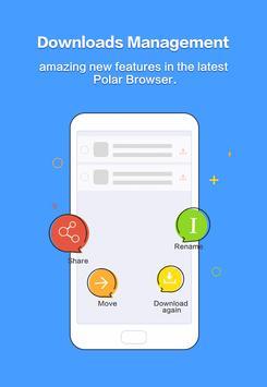 Polar Browser -Download Faster screenshot 3