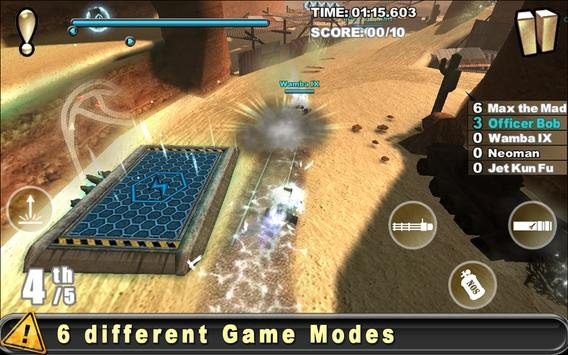 Cracking Sands - Combat Racing (Unreleased) imagem de tela 2